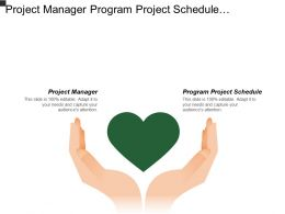 Project Manager Program Project Schedule Construction Contract Management