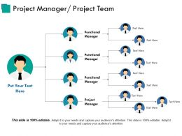 Project Manager Project Team Ppt Design
