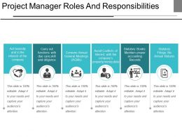 Project Manager Roles And Responsibilities Ppt Images