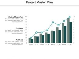 Project Master Plan Ppt Powerpoint Presentation Outline Elements Cpb