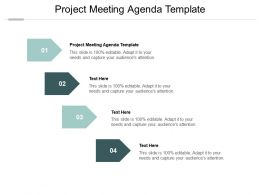Project Meeting Agenda Template Ppt Powerpoint Presentation Visual Aids Styles Cpb