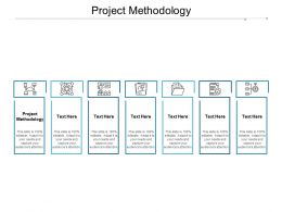 Project Methodology Ppt Powerpoint Presentation Inspiration Model Cpb