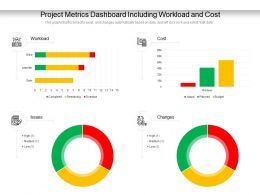 Project Metrics Dashboard Including Workload And Cost