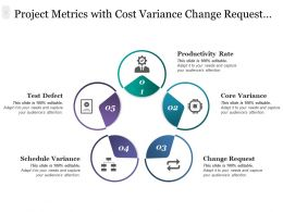 Project Metrics With Cost Variance Change Request Test Defect