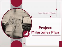 Project Milestones Plan Powerpoint Presentation Slides
