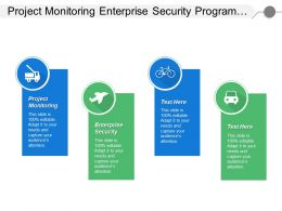 Project Monitoring Enterprise Security Program Management Office Standards Group