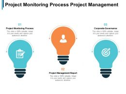 Project Monitoring Process Project Management Report Corporate Governance Cpb