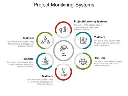 Project Monitoring Systems Ppt Powerpoint Presentation File Topics Cpb
