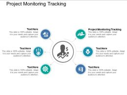 Project Monitoring Tracking Ppt Powerpoint Presentation Infographics Inspiration Cpb