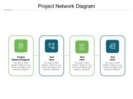 Project Network Diagram Ppt Powerpoint Presentation File Gridlines Cpb