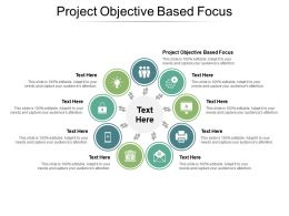 Project Objective Based Focus Ppt Powerpoint Presentation Professional Example Cpb