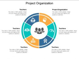 Project Organization Ppt Powerpoint Presentation Model Slideshow Cpb