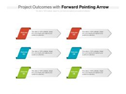 Project Outcomes With Forward Pointing Arrow