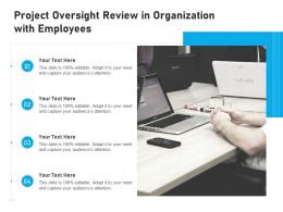 Project Oversight Review In Organization With Employees