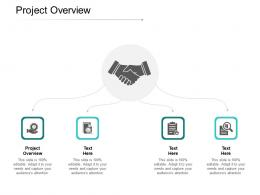 Project Overview Ppt Powerpoint Presentation Pictures Display Cpb