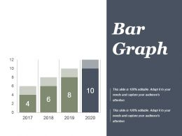 Project Performance Bar Graph Powerpoint Slide Designs Download