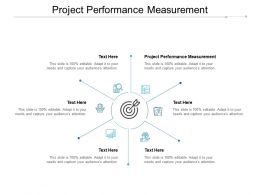 Project Performance Measurement Ppt Powerpoint Presentation Icon Show Cpb