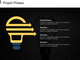 Project Phases Ppt Powerpoint Presentation Infographic Template Layout Cpb