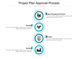 Project Plan Approval Process Ppt Powerpoint Presentation Professional Layout Cpb