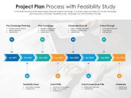 Project Plan Process With Feasibility Study