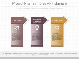 Project Plan Samples Ppt Sample