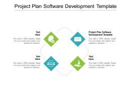 Project Plan Software Development Template Ppt Powerpoint Presentation Diagram Lists Cpb