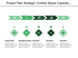 Project Plan Strategic Context Space Capacity Macro Issue
