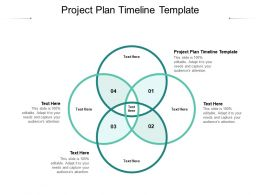 Project Plan Timeline Template Ppt Powerpoint Presentation Slides Picture Cpb