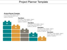 Project Planner Template Ppt Powerpoint Presentation Model File Formats Cpb