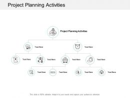 Project Planning Activities Ppt Powerpoint Presentation File Visuals Cpb