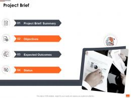 Project Planning And Governance Project Brief Ppt Powerpoint Presentation Slideshow