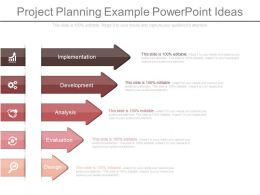 Project Planning Example Powerpoint Ideas