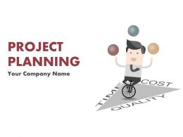 Project Planning Lifecycle Scope And Schedule PowerPoint Presentation Slides