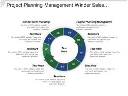 Project Planning Management Winder Sales Planning Customer Segmentation