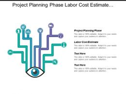 project planning phase labor cost estimate stakeholders analysis cpb