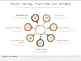 Project Planning Powerpoint Slide Template