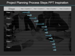 Project Planning Process Steps Ppt Inspiration