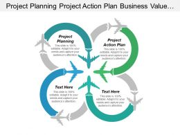 Project Planning Project Action Plan Business Value Chain Cpb