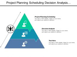 Project Planning Scheduling Decision Analysis Framework Development Risk Management Cpb