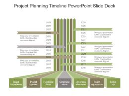 Project Planning Timeline Powerpoint Slide Deck