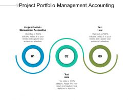 Project Portfolio Management Accounting Ppt Powerpoint Presentation Infographic Cpb