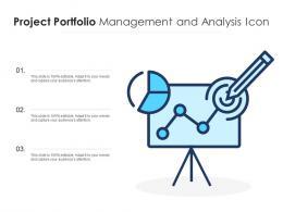 Project Portfolio Management And Analysis Icon