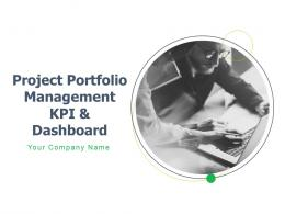 Project Portfolio Management Kpi And Dashboard Powerpoint Presentation Slides