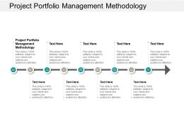 Project Portfolio Management Methodology Ppt Powerpoint Presentation Icon Outline Cpb