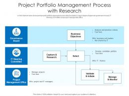 Project Portfolio Management Process With Research