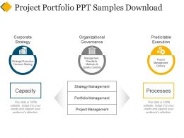 Project Portfolio Ppt Samples Download