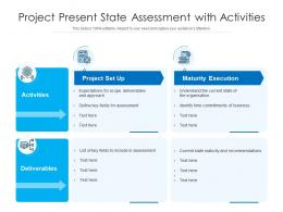 Project Present State Assessment With Activities