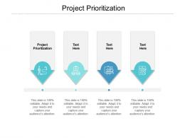 Project Prioritization Ppt Powerpoint Presentation Diagram Lists Cpb