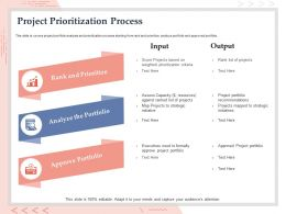 Project Prioritization Process Portfolio Ppt Powerpoint Presentation Design Ideas