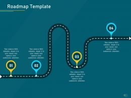 Project Priority Assessment Model Roadmap Template Ppt Powerpoint Presentation Gallery Guide